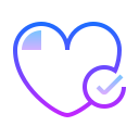 Coeur en bonne santé icon