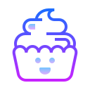Kawaii Cupcake icon