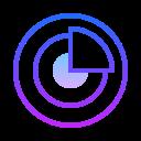 Gráfico circular icon