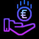 Receive Euro icon