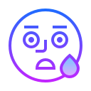 Scared Emoji icon