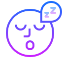 Sleeping icon