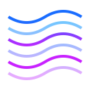 Wave Lines icon