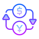 Dollar Yuan Exchange icon