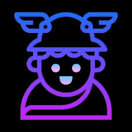 Greek God Hermes icon