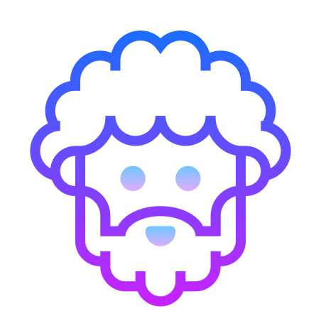Pericles icon in Gradient Line