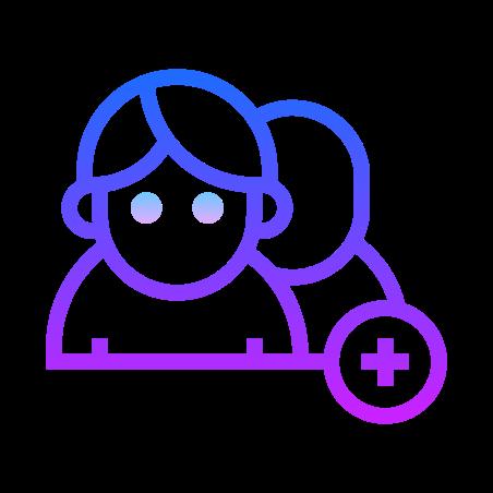 Add User Group Man Man icon
