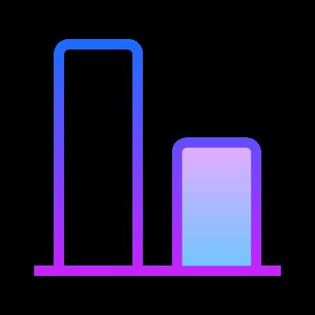 Align Bottom icon in Gradient Line