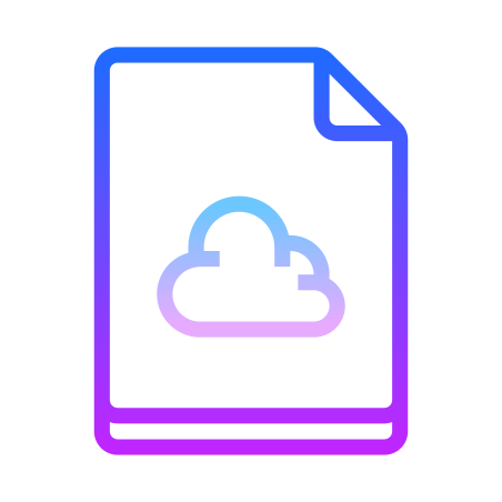 Cloud File icon