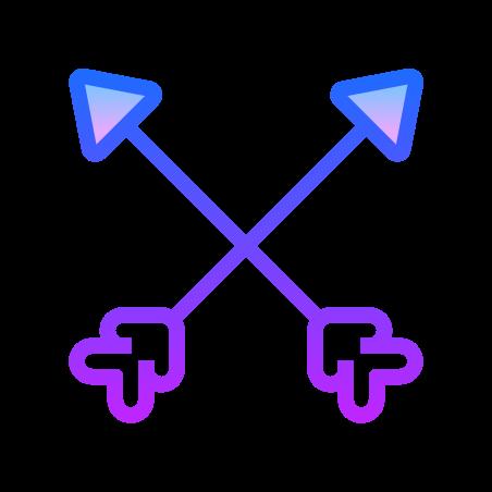 교차 화살표 icon