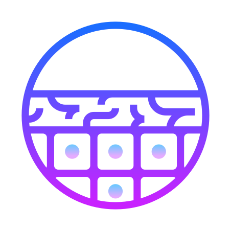 Dry Skin icon in Gradient Line