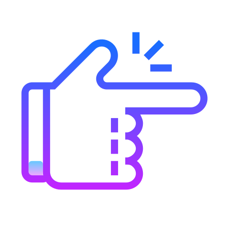 Easy icon in Gradient Line