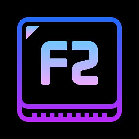 F2 Key icon