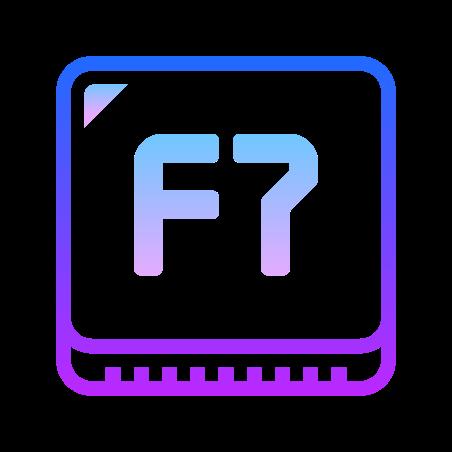F7 Key icon