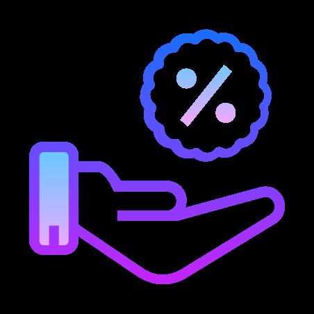 할인 받기 icon