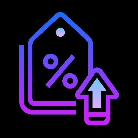 Increase Discount icon