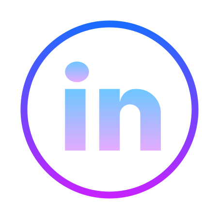 LinkedIn Circled icon