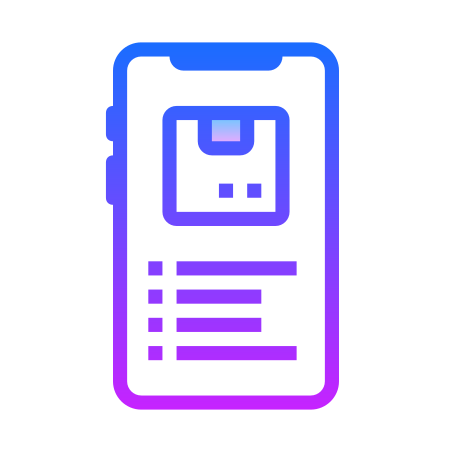 Mobile Package Tracking icon