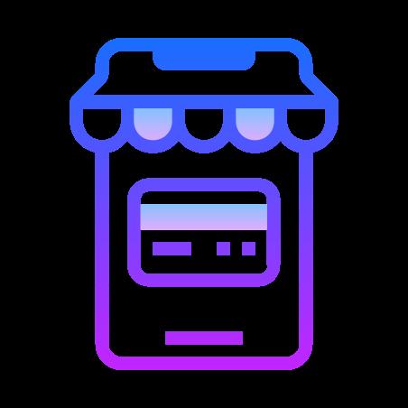 Tarjetas Mobile Shop icon