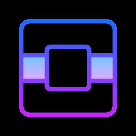 New OpenStack Logo icon in Gradient Line