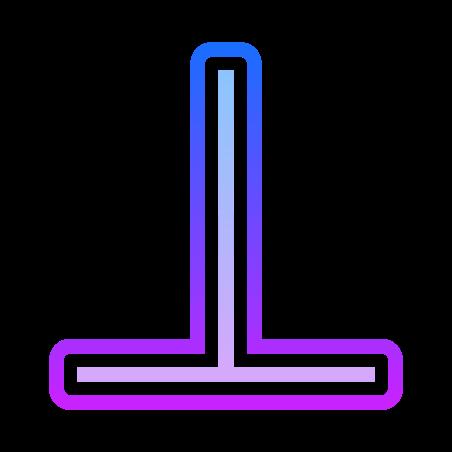 Perpendicular Symbol icon