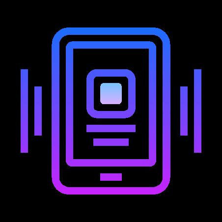 흔들어 전화 icon