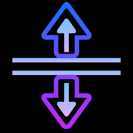 분할 수직 icon