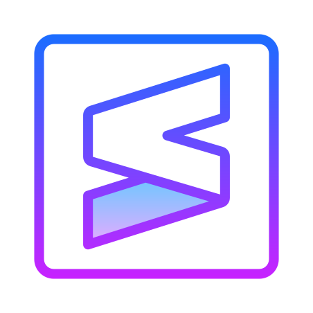 Sublime Text New Logo icon
