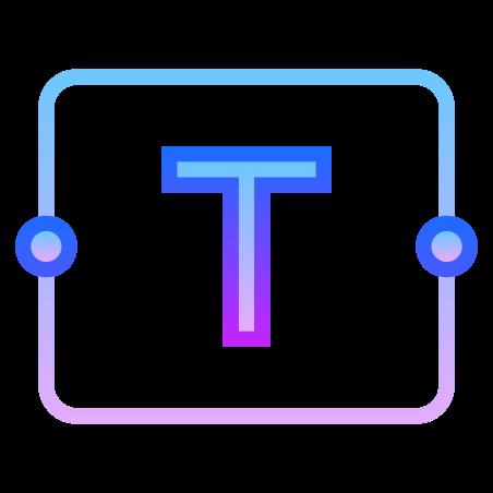 Casella di testo icon