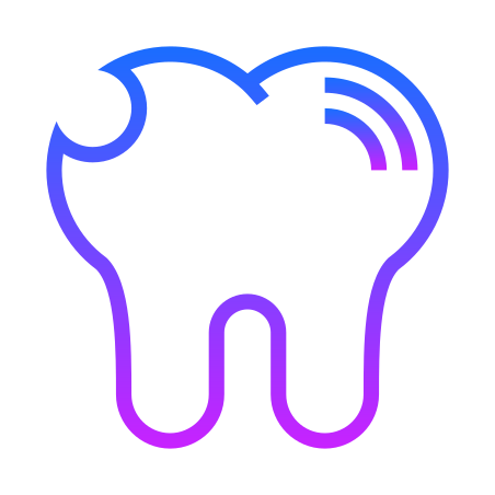 Tooth Cracked icon