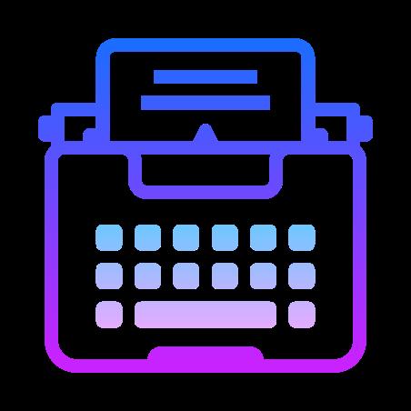 종이와 타자기 icon