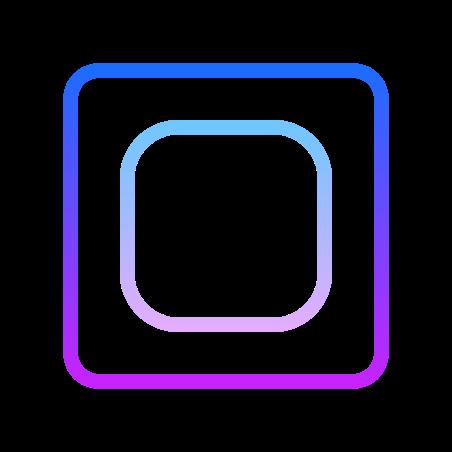 Widgetsmith icon in Gradient Line