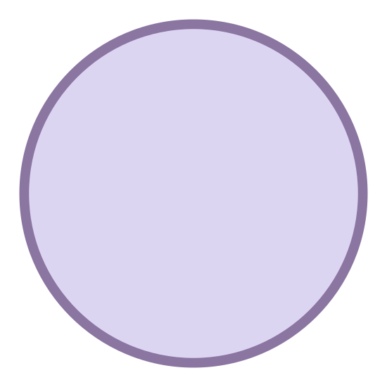 0 Percent icon. The logo for 0 percents is simplistic in design and is only a circle. The dark border outlines the circle and there is nothing in the center of the circle nor outside of it.