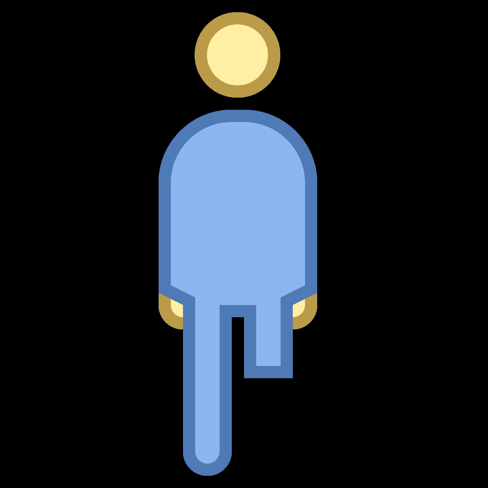 Osoba z amputowanąkończyną icon
