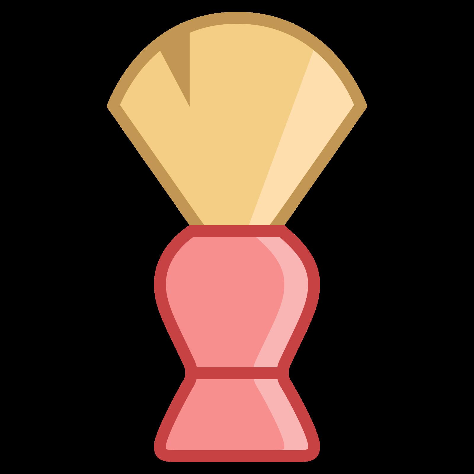 Pędzel fryzjerski icon