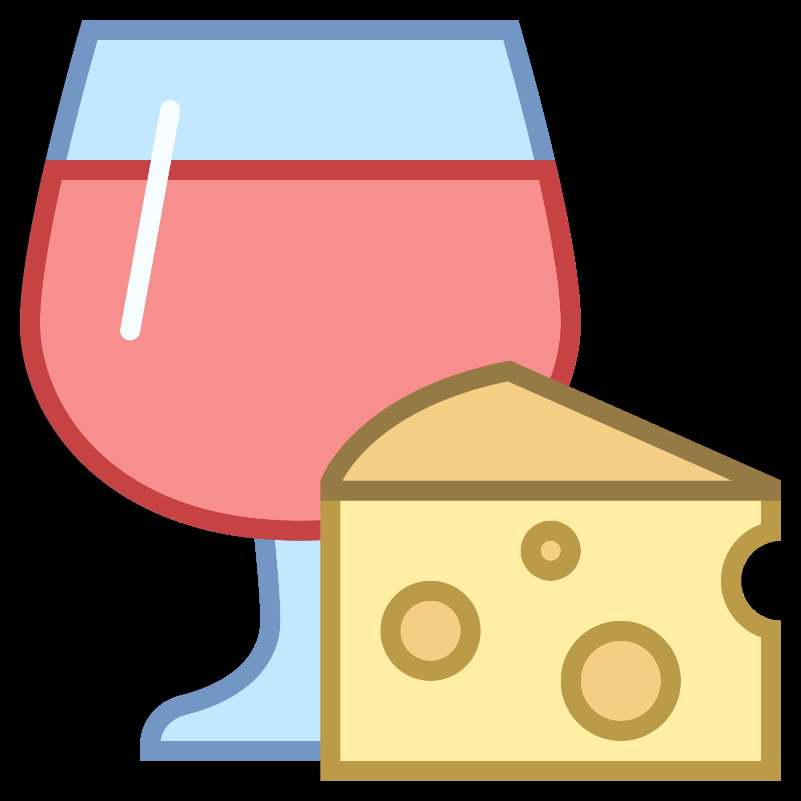 Jedzenie i wino icon
