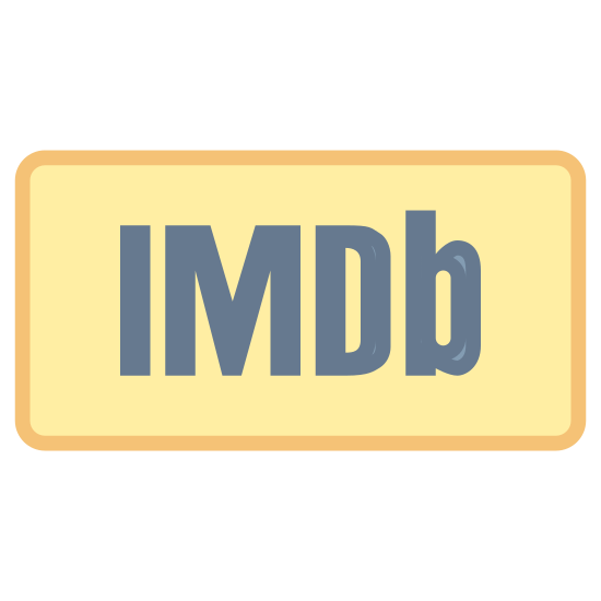 """IMDB icon. It is the logo of the online film, movie, and actor/actress information website, IMDb, at imdb.com. The log is the letters imdb, with IMD capitalized, and the letter """"b"""" is lowercase. It is encased in a rectangle with round edges."""