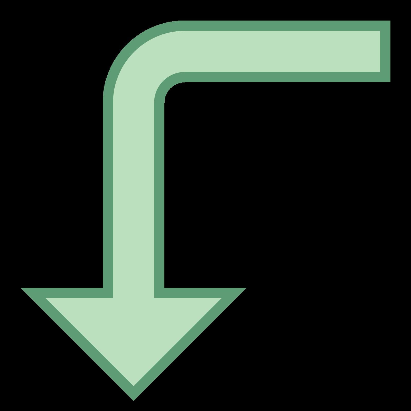 Left Down 2 icon