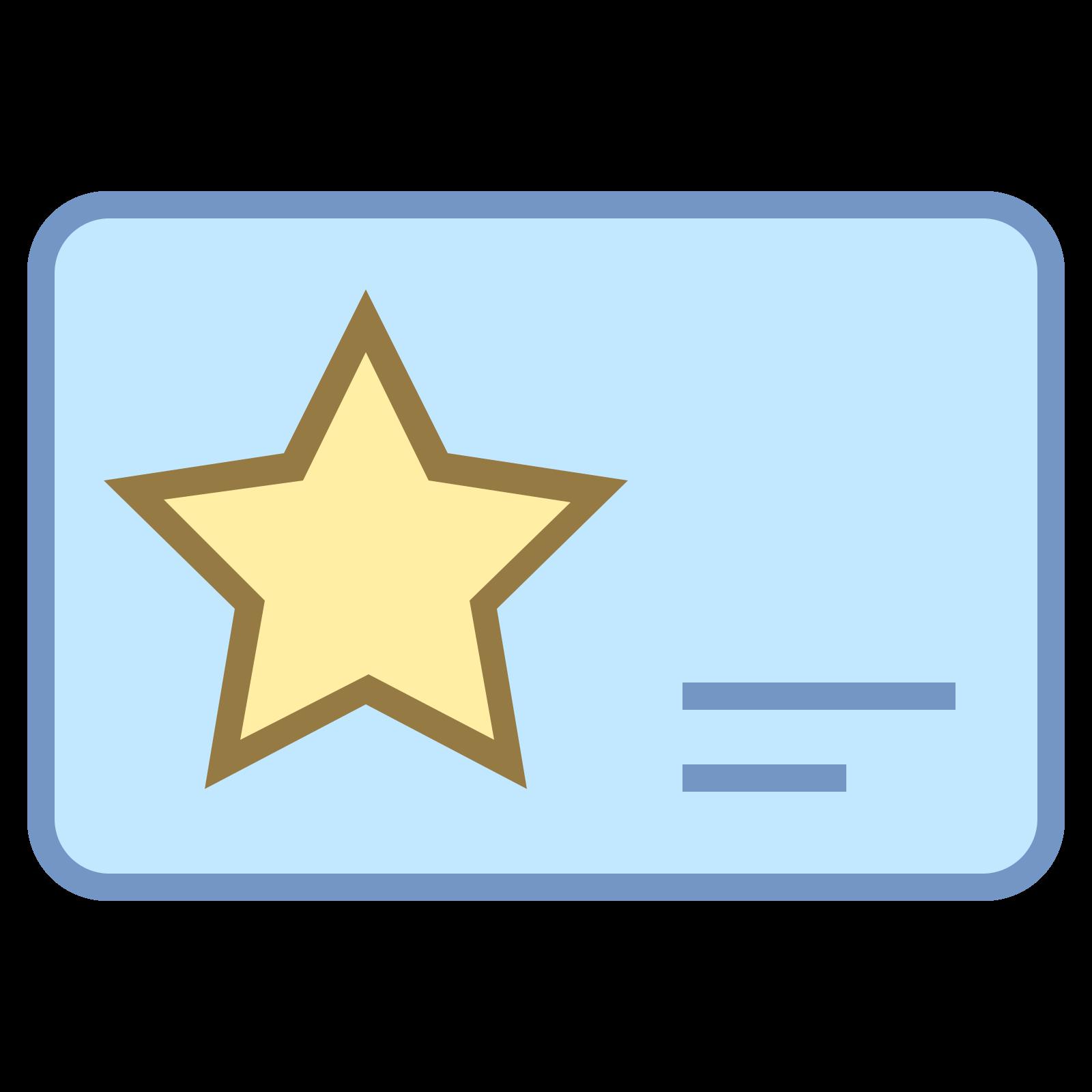 Карточка участника icon