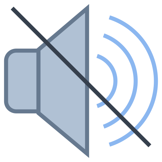 No Audio icon. This is a picture of a no audio icon.  This logo has three backwards c to denotes that sound is coming from it but the line on the backward c means that no sound is coming from it.  Then you have a picture of rectangle with a  bottom part of the wire hanger attached.