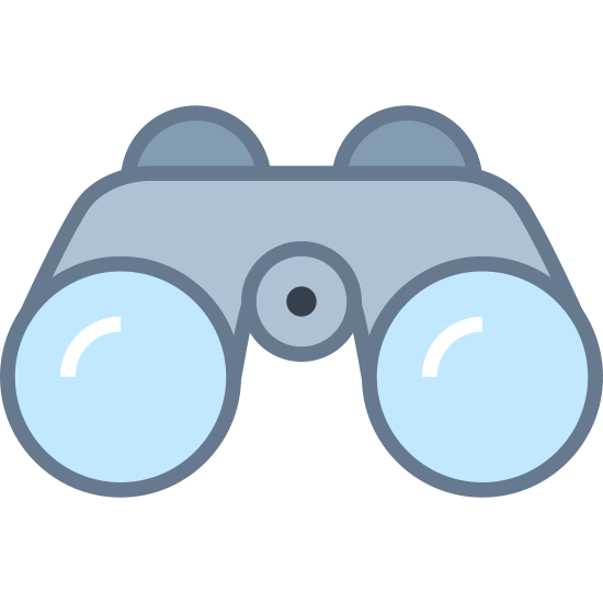 Lornetka do opery icon. These are binoculars, take for instance bathroom toilet paper. Just add magnifying which helps you see further. Roll up two identical circle tubes and attack them on the outside with magnifying ends so you can see further. They add a middle that holds these two circles together and on the back of it is a place to put your eyes so you can get nice and comfortable viewing.