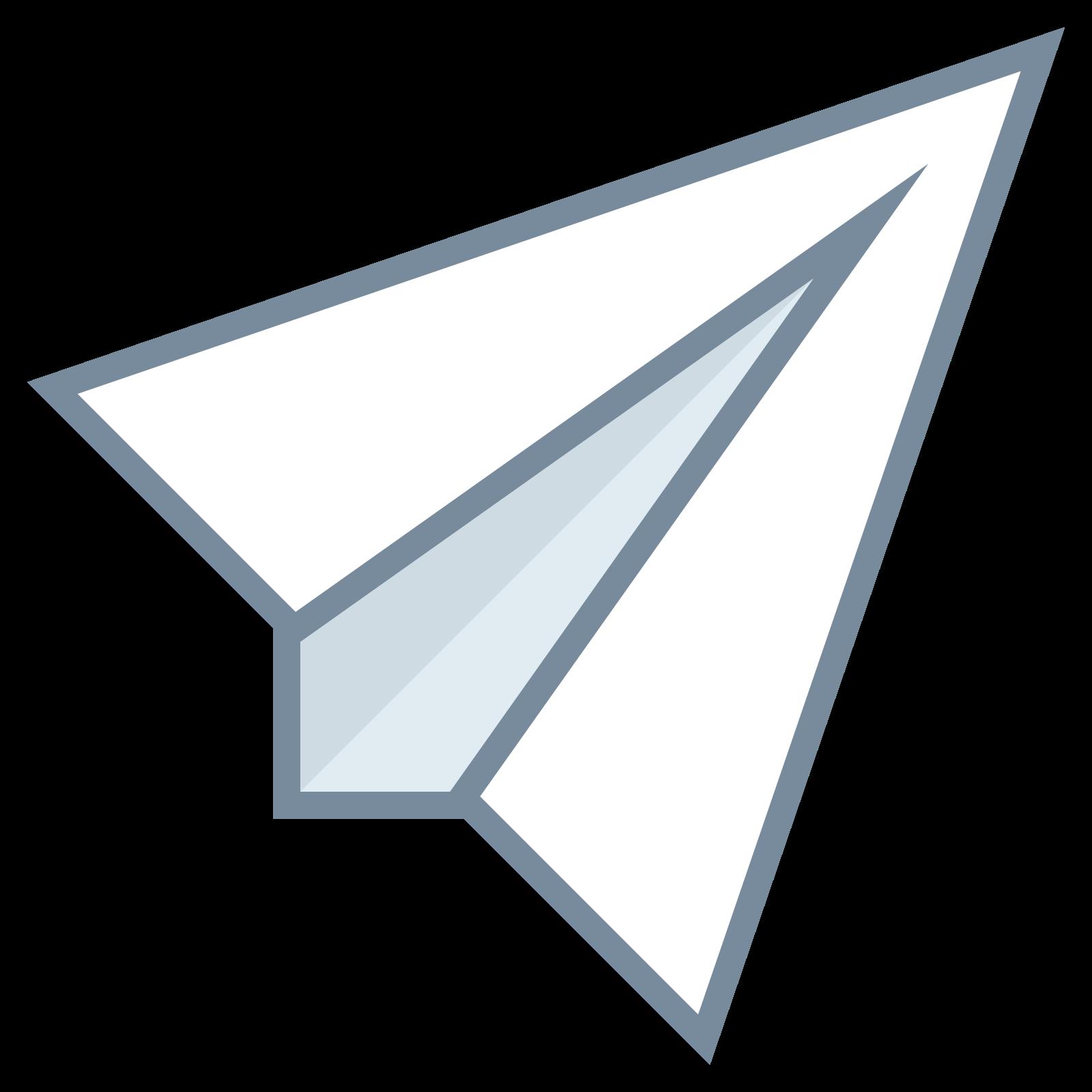 Avion en papier icon