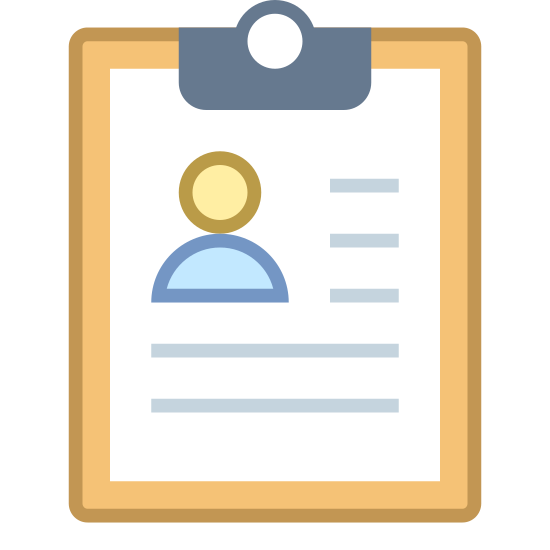 cv icon - free download, png and vector