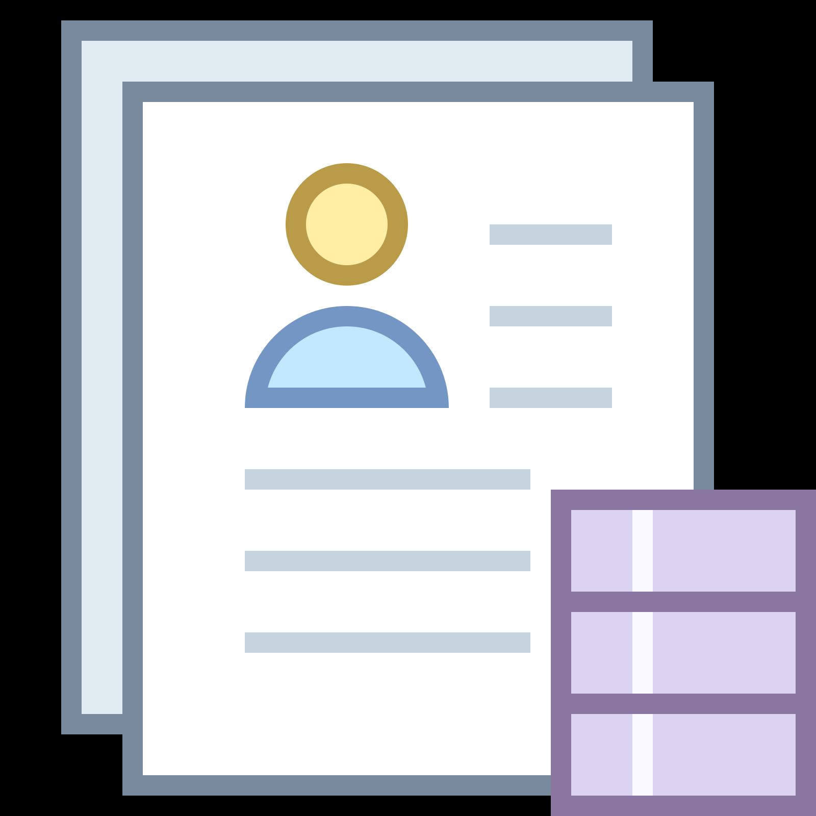 履歴書を解析 icon