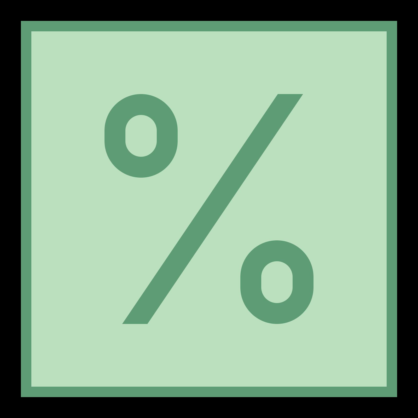 Procent 2 icon