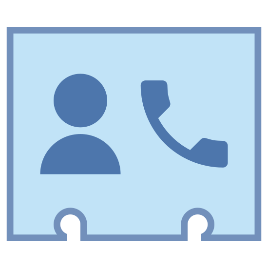 Phone Contact icon