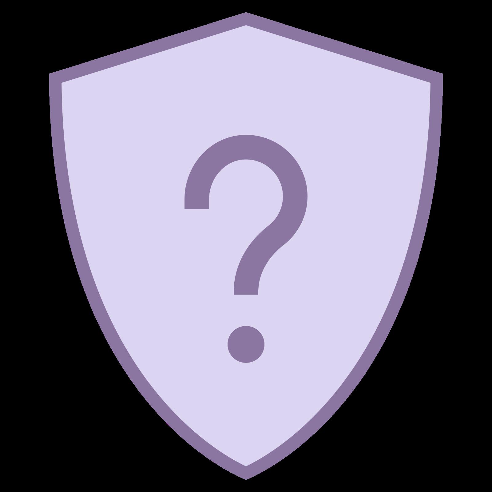 Tarcza pytanie icon