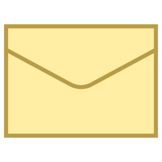 Сообщение icon. Message is a notification that is received when you get a new email or something similar. It is represented by a envelope to notify you something is there.