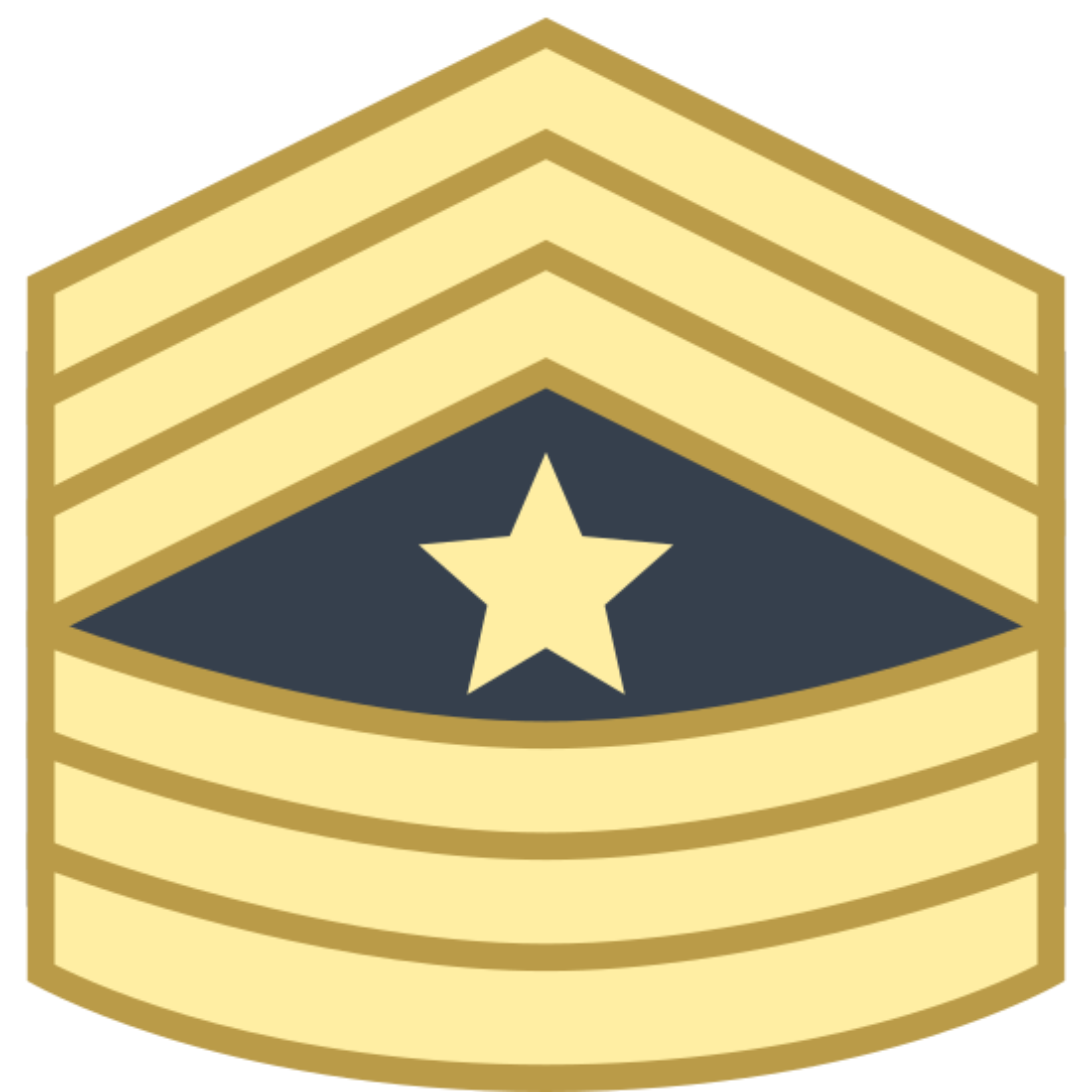 Sergeant Major SGT icon