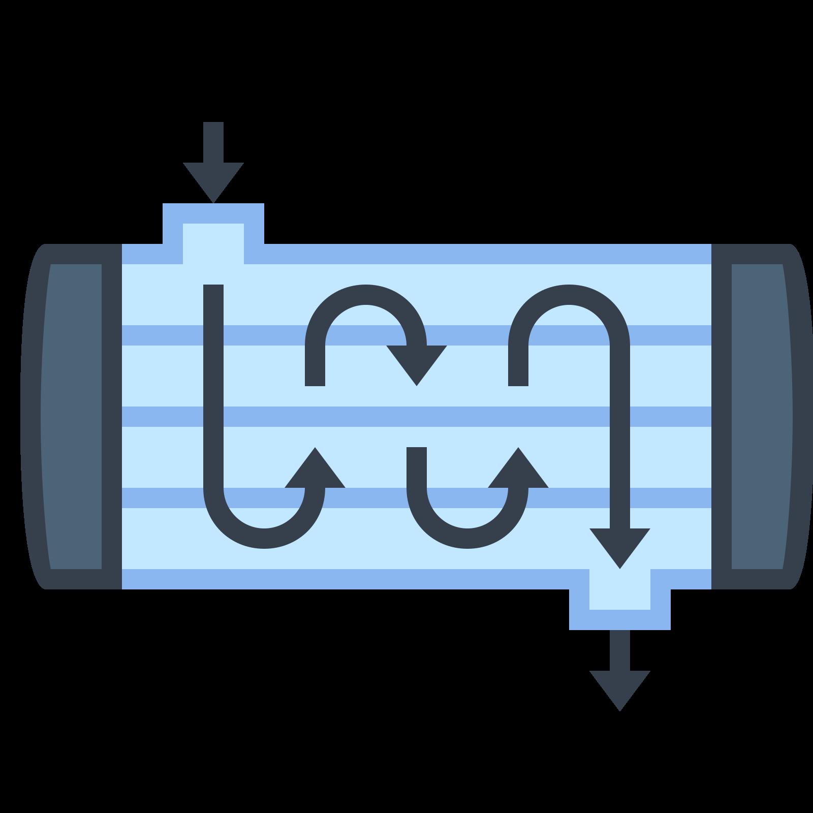 Wymiennik ciepła płaszczowo-rurowy icon